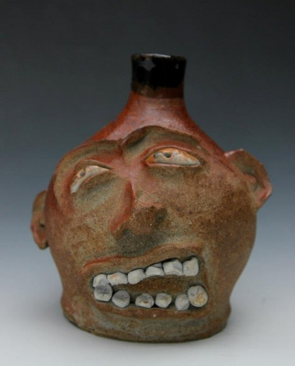 Ceramic Face Jug Friday